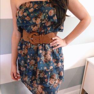 Love Culture Dresses & Skirts - blue floral dress