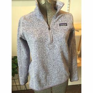 Patagonia Sweaters Tundra Purple Womens Better Sweater 14 Zip