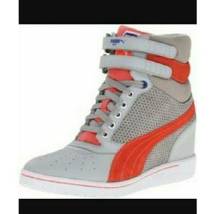 Shoes - Puma wedge sneakers