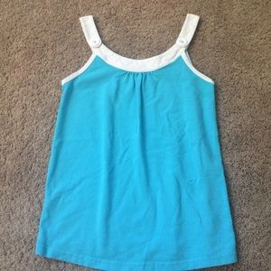 Lilly Pulitzer turquoise size small tank top