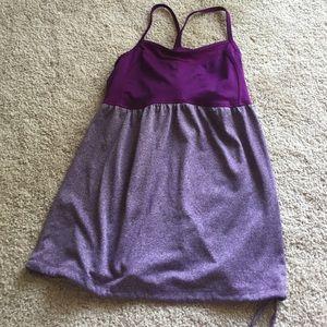 Champion Tops - Champion Purple Strappy Workout Tanktop