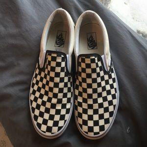 Mens Checkered vans!