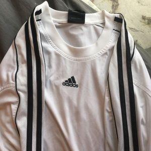 Adidas long sleeved workout shirt
