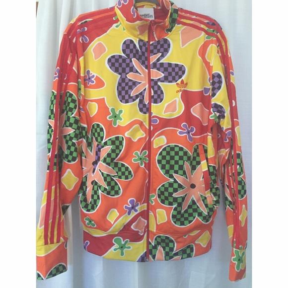 26aeb286f974 Adidas x Jeremy Scott tracksuit jacket (Floral)