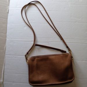 Vintage Coach Basic Convertible Bag and Clutch