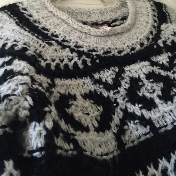 Free People Tops - Free people crochet sweater