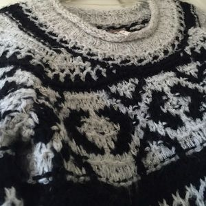 Free People Tops - Free people crochet sweater