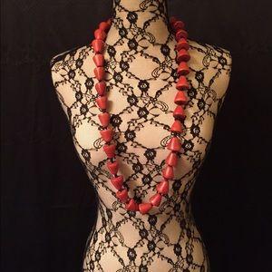 Jewelry - New Beautiful Wooden Beaded Necklace Bahamas