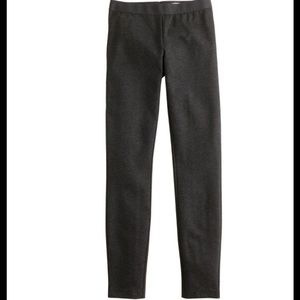 J.crew Pixie Pant. Size 4 Tall. Color Heather Grey