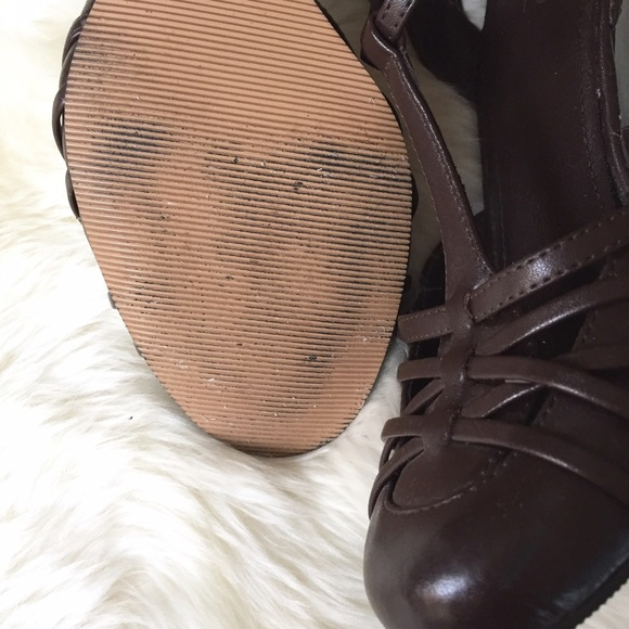 Mossimo Supply Co. Shoes - Brown Wedge Pumps | Mossimo
