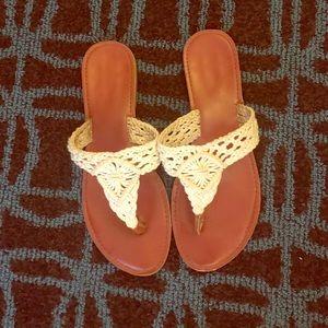 Super cute crochet sandals