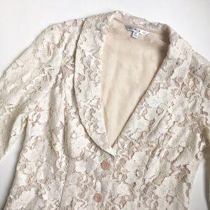 CAbi Jackets & Blazers - ⚜ CAbi Lace Sheer Blazer Jacket