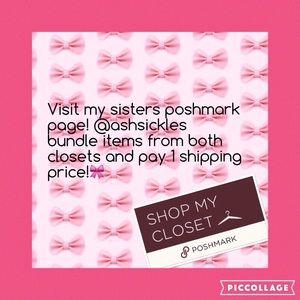 Visit my sisters closet!