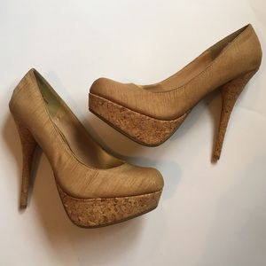 Bamboo Shoes - NWOT Bamboo Heels size 8