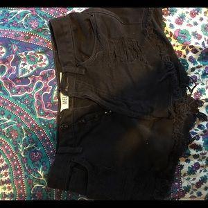 brandy Melville button up shorts