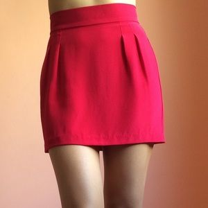 Naven Dresses & Skirts - Naven Raspberry Silk Mini Skirt