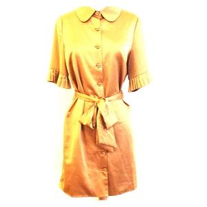 Twelve by Twelve Dresses & Skirts - Twelve By Twelve Mustard Vintage Style Dress
