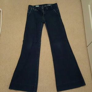 Gap wide leg trouser jean