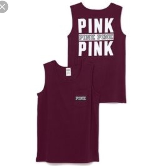 d23ae89286506 New Victoria's Secret PINK Campus Tank Top - XS
