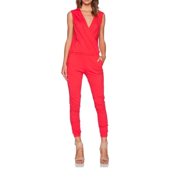 1c0389737ac8 Bobi Pants - Bobi Supreme Jersey Jumpsuit Light Raspberry XS