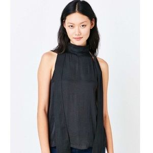 {alice ritter x uo} ginette silky tie blouse