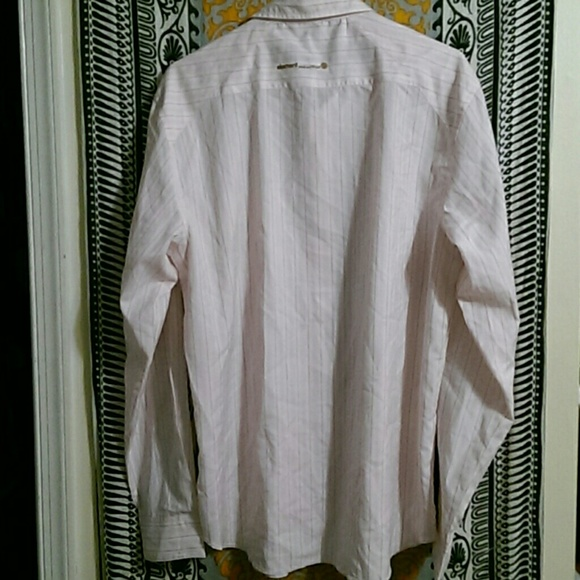 82 off element other light pink mens element button for Pastel pink button down shirt