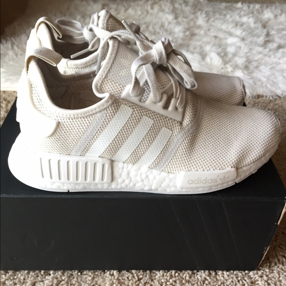 premium selection 51b48 bebbc Adidas Nmd R1 Womens Beige kenmore-cleaning.co.uk