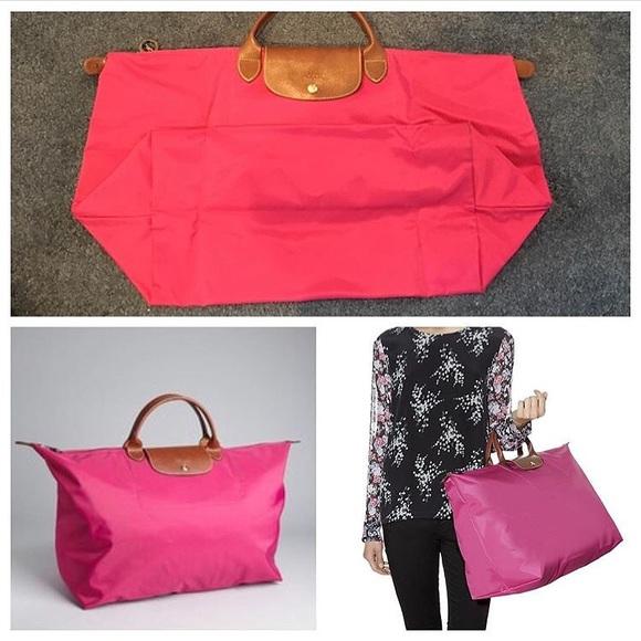 26708d4cf996 Longchamp Bags | Le Pliage Extralarge Travel Bag Pink | Poshmark