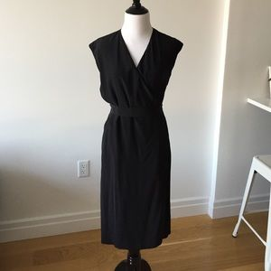 Maison Martin Margiela Dresses & Skirts - NWT Maison Martin Margiela Black Silk Wrap Dress