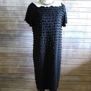 AGB Dresses & Skirts - Black ruffle dress