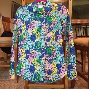 Jcrew The Perfect Shirt in Floral