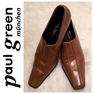 Paul Green Shoes - Paul Green Signature Leather Heels