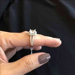 Jewelry - 925 Sterling Silver Ring CZ