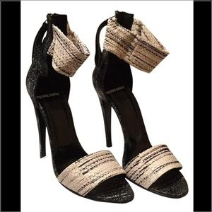 Pierre Hardy Shoes - Pierre Hardy snake leather slim shoe