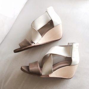 Camper Shoes - Camper Bandage Peep toe sandal wedges