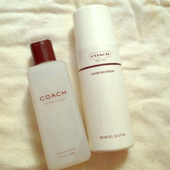 coach other coach leather cleaner and moisturizer bundle - Coach Cleaner