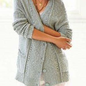 Urban outfitters olive & oak green knit cardigan
