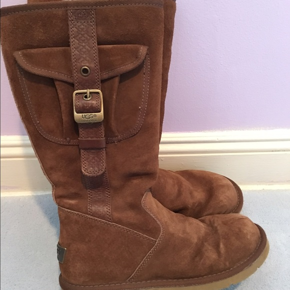 62 Off Ugg Shoes Ugg Australia Retro Cargo Boots Buckle