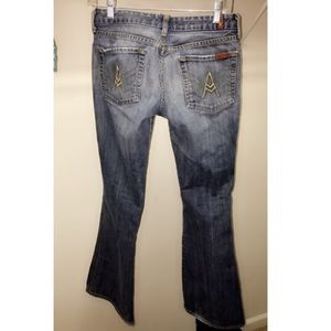 7 for all mankind A jeans