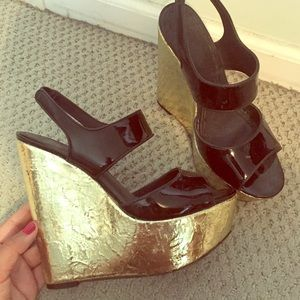 Shoes - Alice and Olivia wedges