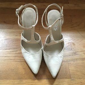 KORS by Michael Kors Adrielle Snakeskin heels