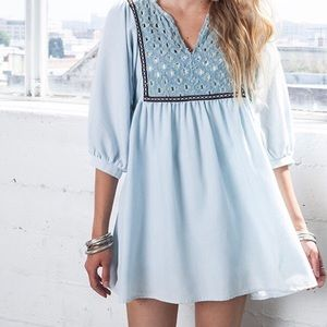 Light Ice Babydoll Dress
