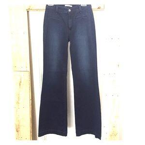 Rich & Skinny Denim - Rich & Skinny Dark Indigo Trouser Jeans