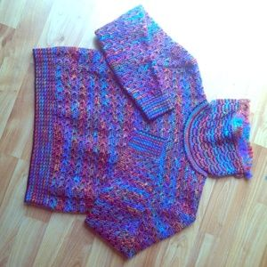saint john by marie grey Sweaters - Saint John by Marie Grey COLORFUL knit sweater