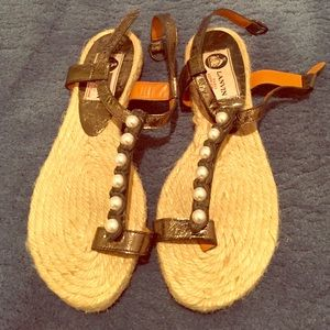 Lanvin  authentic pearl sandal