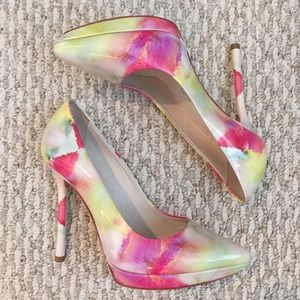 Alice + Olivia Shoes - REDUCED❗️Colorful Patent Pointed Toe Heels
