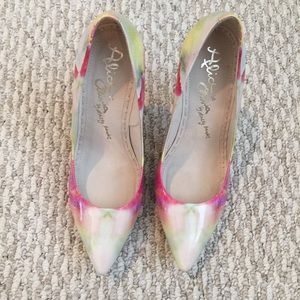 Alice + Olivia Shoes - SALE❗️Colorful Patent Pointed Toe Heels