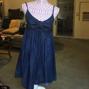 Dollhouse Dresses & Skirts - Denim spaghetti strap dress.