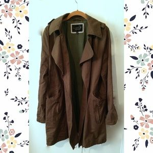 Jackets & Blazers - Army green military style jacket