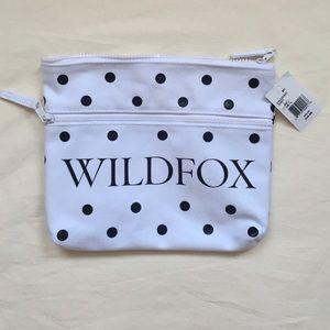 Wildfox Polka Dot Bikini Bag